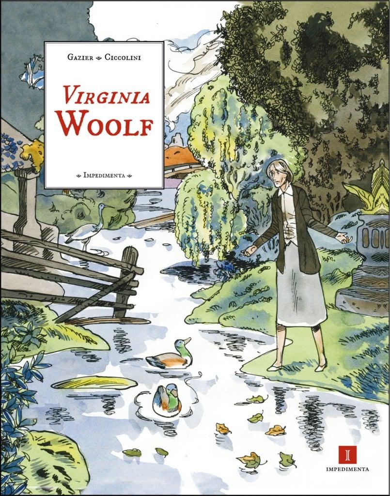 Virginia Woolf de Michèle Gazier y Bernard Ciccolini
