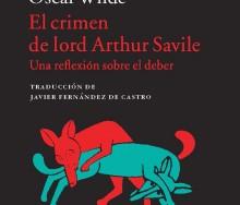 El crimen de Lord Arthur Savile de Oscar Wilde