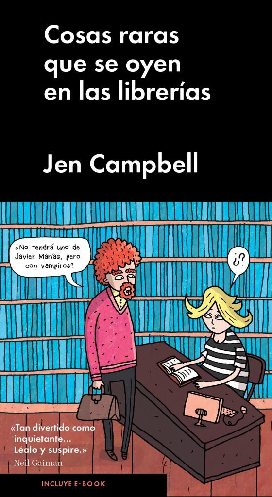 Cosas raras que se oyen en las librerías de Jen Campbell