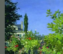 Un jardín en Brujas de Charles Bertin