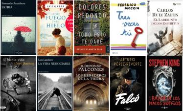 Libros más vendidos del 19  al 25 de febrero