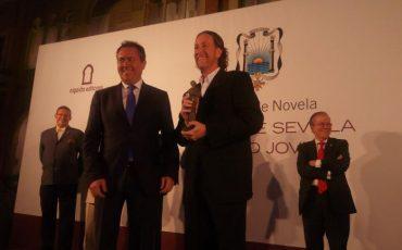 Jerónimo Tristante gana el XLIX Premio de Novela Ateneo de Sevilla