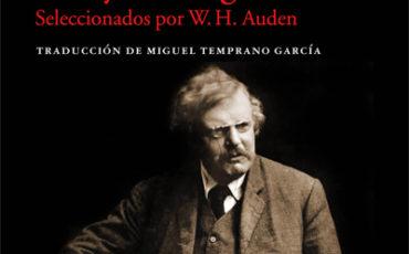 ENSAYOS ESCOGIDOS (SELECCIONADOS POR W.H. AUDEN), DE G.K. CHESTERTON: EL 4 DE OCTUBRE EN LI BRERÍAS