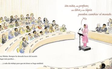 Alianza Editorial- El lápiz mágico de Malala