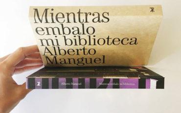 Mientras embalo mi biblioteca de Alberto Manguel