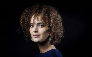 Leila Slimani con el movimiento #metoo