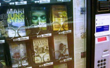 Máquinas expendedoras de libros en los Hospitales Ramón y Cajal y La Paz para luchar contra el c áncer