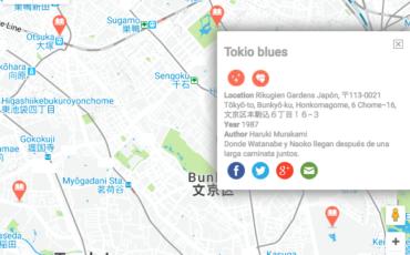 El mapa interactivo para recorrer el mundo a través de los libros