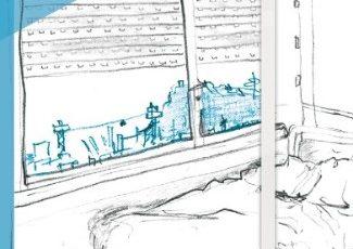 Novedad: Dibujar el interior de un psiquiátrico