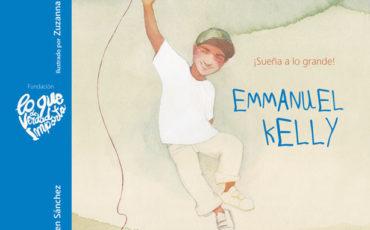 Novedad: Emmanuel Kelly – ¡Sueña a lo grande!🎤