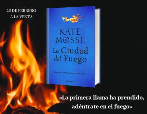 'La ciudad del fuego', la nueva novela de Kate Mosse donde se relata una historia de amor y guerra en Carcassonne