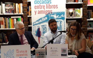 Se presenta en Madrid El país de la desmemoria de Juan Miguel Baquero