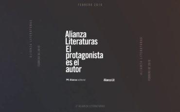 Alianza Editorial lanza 'Alianza Literaturas'