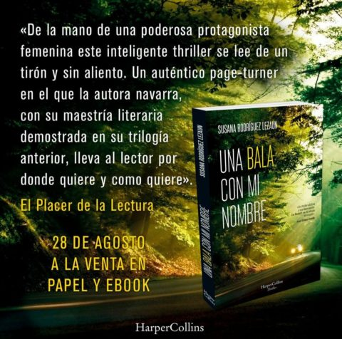 Una bala con mi nombre, el mejor thriller español de este otoño