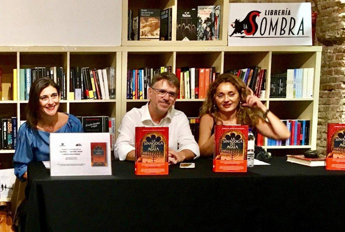 Encuentro Con Pablo De Aguilar Autor De La Sinagoga Del Agua El Placer De La Lectura