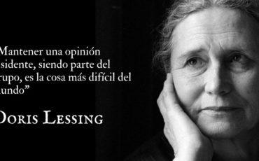 Doris Lessing cumpliría hoy 100 años