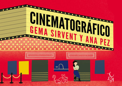Cinematográfico llega a las librerías españolas el próximo lunes 2 de diciembre