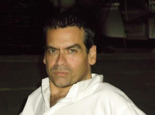 Juan Ramón Biedma, ganador del XXI Premio Unicaja de Novela Fernando Quiñones