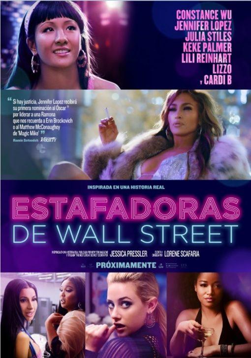 ESTAFADORAS DE WALL STREET se convierte en el mejor estreno del fin de semana. Ya en cines.