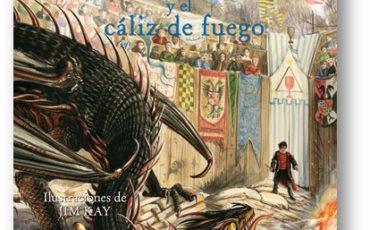 Ya está a la venta la esperada edición ilustrada de Harry Potter y el cáliz de fuego