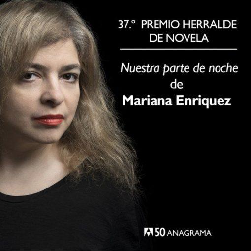 """""""Nuestra parte de noche"""" ha sido la novela ganadora de la 37ª edición del prestigioso premio convocado por Anagrama"""