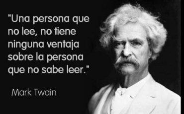 Cita de Mark Twain