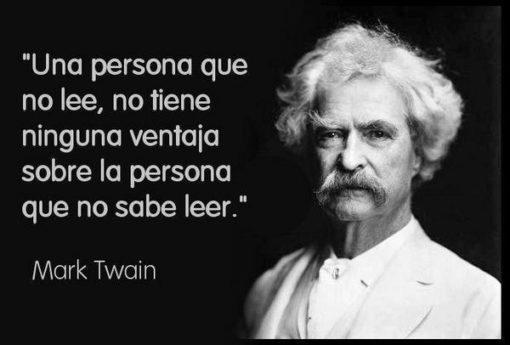 Cita de Mark Twain en el 110º aniversario de su muerte