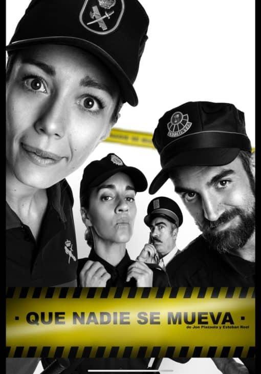"""Jon Plazaola, Agustín Jiménez, Sara Gómez y Elena Lombao protagonizan la comedia teatral  """"Que nadie se mueva"""""""