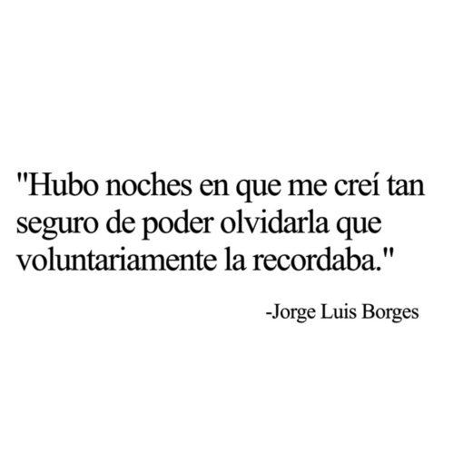 Cita de Jorge Luis Borges
