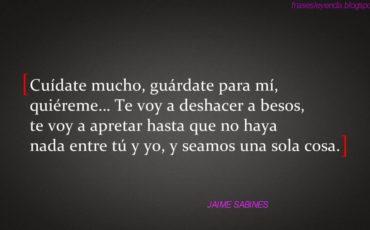 Cita de Jaime Sabines