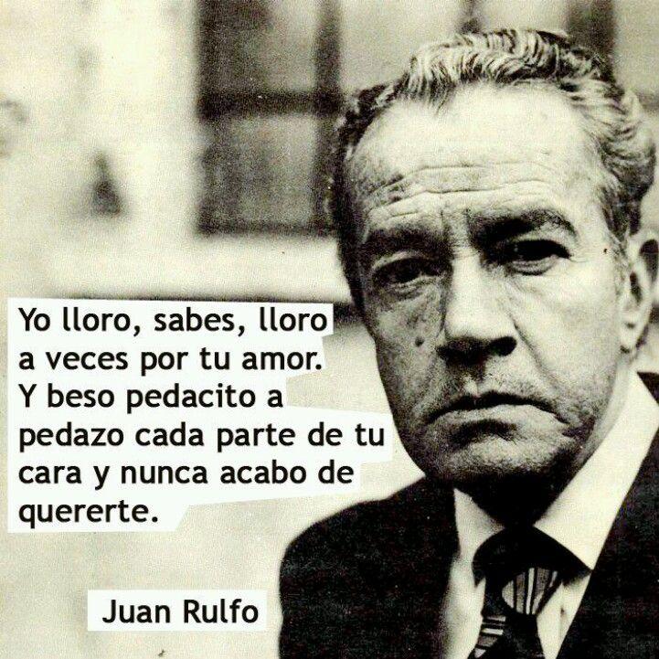 Cita de Juan Rulfo
