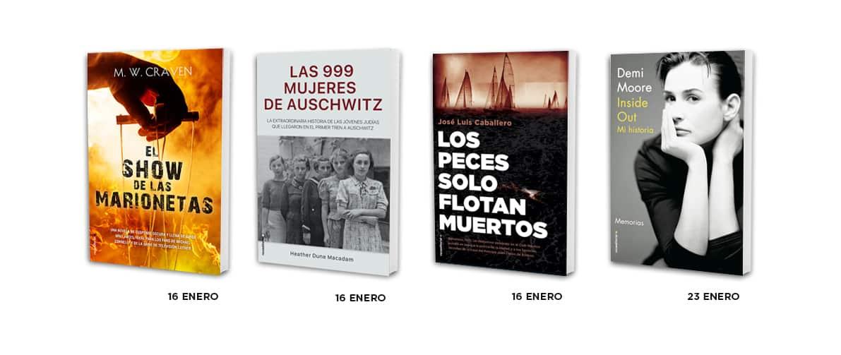 20 libros para 2020 de Roca Editorial