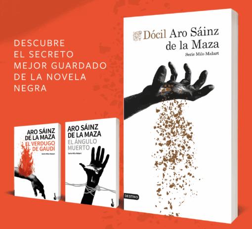 Aro Sáinz de la Maza amplía el universo de MILO MALART retando a la tranquilidad del lector
