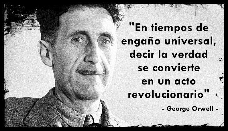Cita de George Orwell