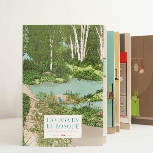 """""""La casa en el bosque"""" es el regalo perfecto para leer y jugar."""