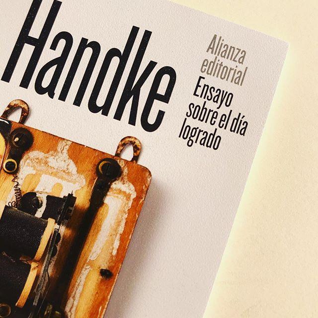 Ensayo sobre el día logrado del Nobel Peter Handke
