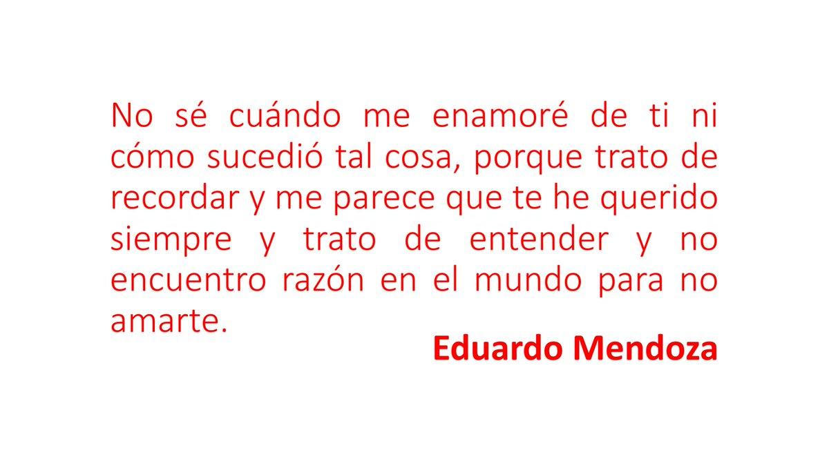 Cita de Eduardo Mendoza
