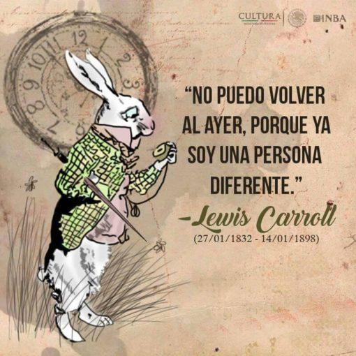 Cita de Lewis Carroll