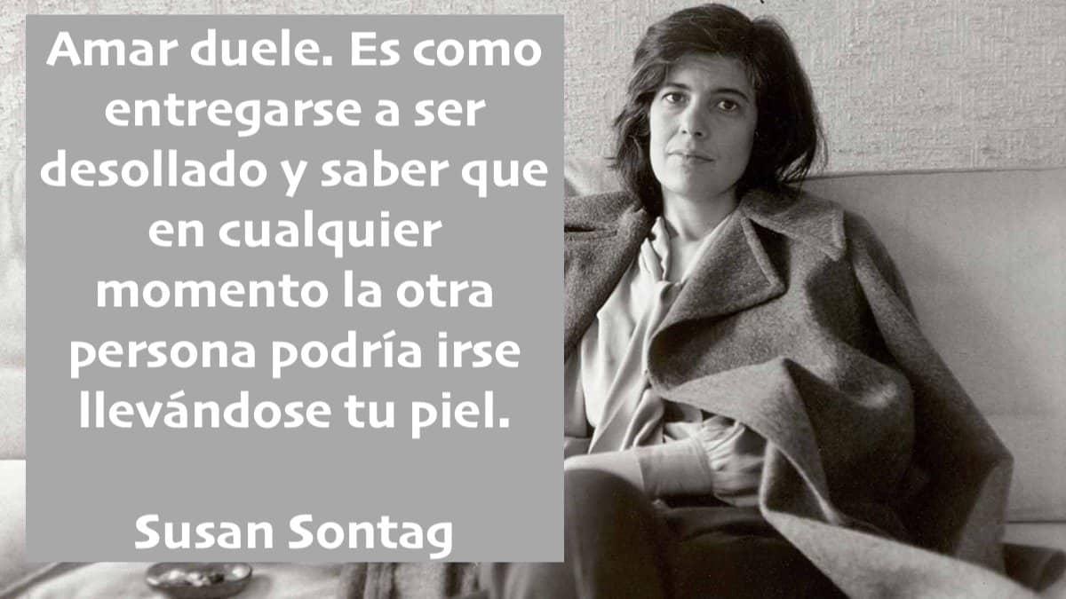 Cita de Susan Sontag