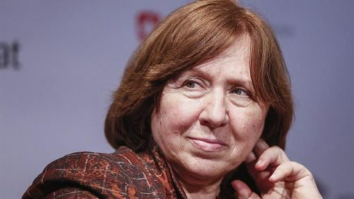 Svetlana Alexiévich fundará una editorial sólo para mujeres