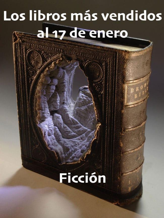 Los libros más vendidos al 17 de enero