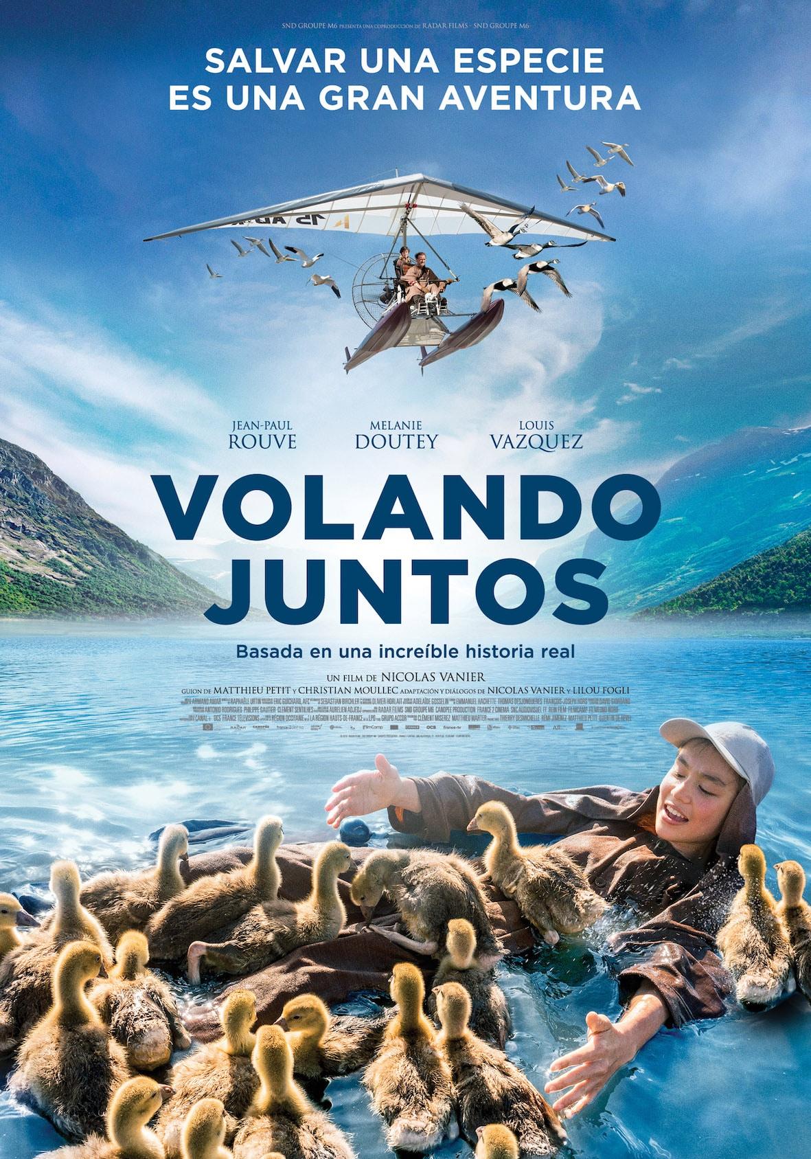 Volando Juntos – Una de las películas familiares de más éxito del año en Francia