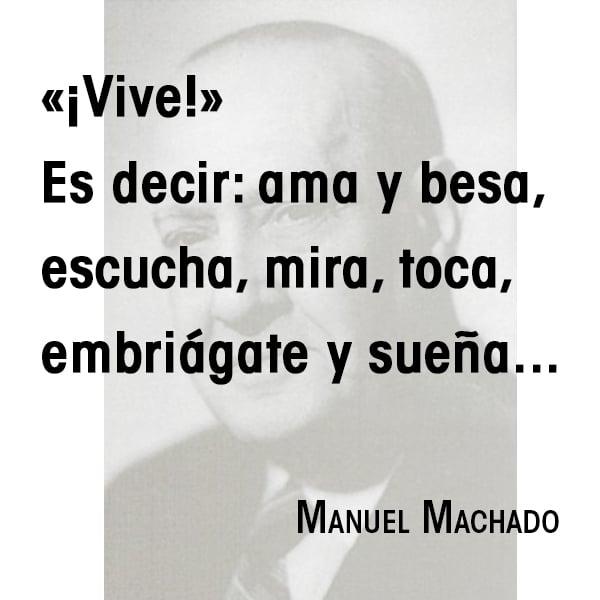 Cita de Manuel Machado