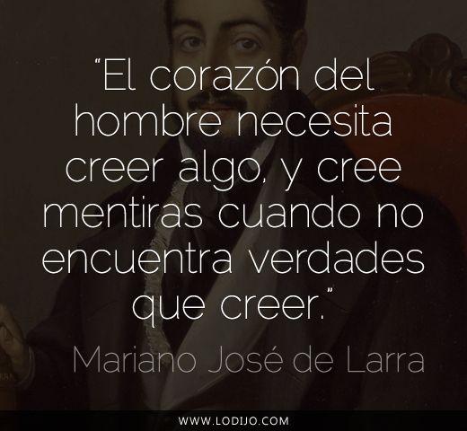Cita de Mariano José de Larra