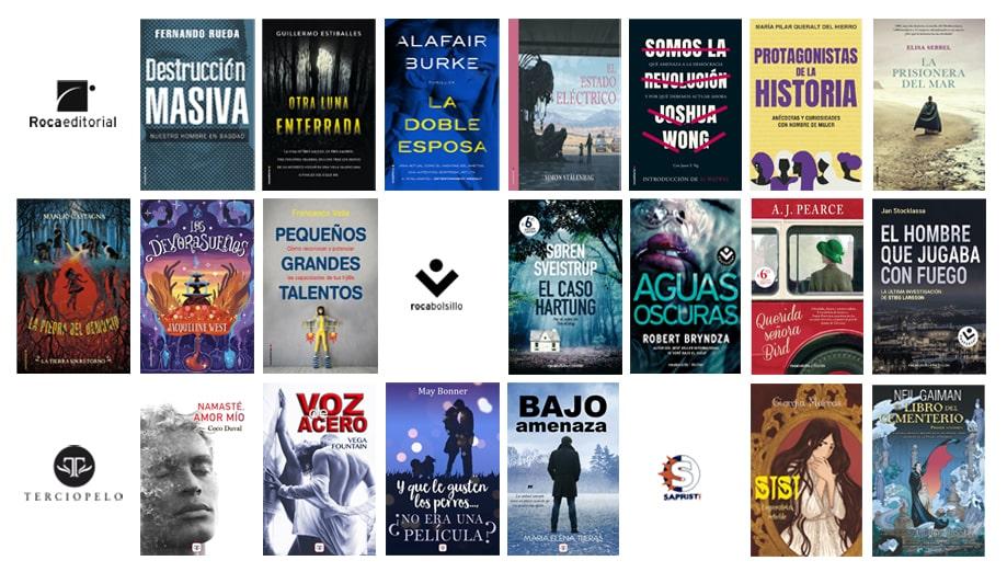 Libros de febrero 2020 en Roca Editorial