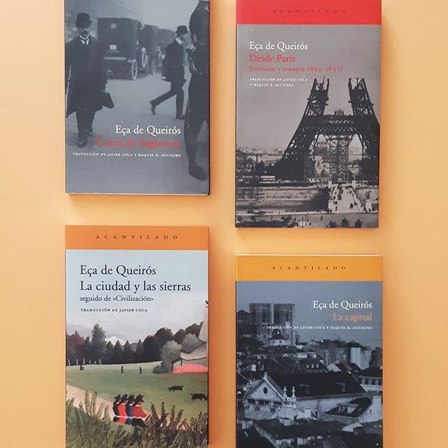 Uno de los mayores escritores portugueses del siglo XIX @acantilado1999