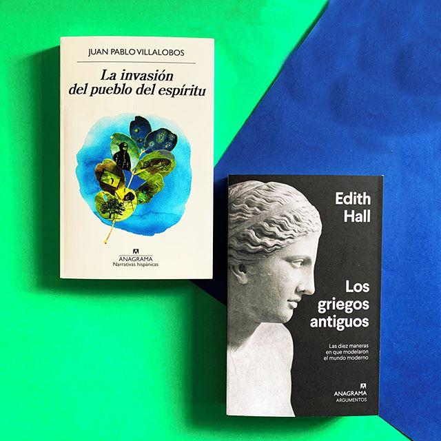 Dos lecturas imprescindibles que llegan hoy a librerías @anagramaeditor