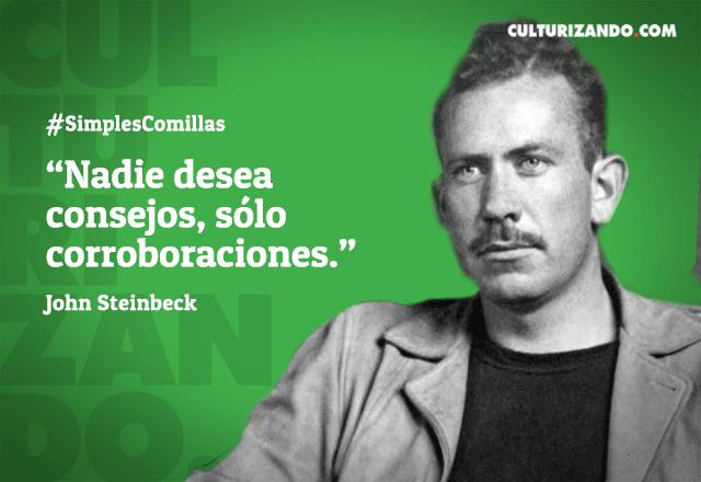 Cita de John Steinbeck que nacía hoy hace 118 años