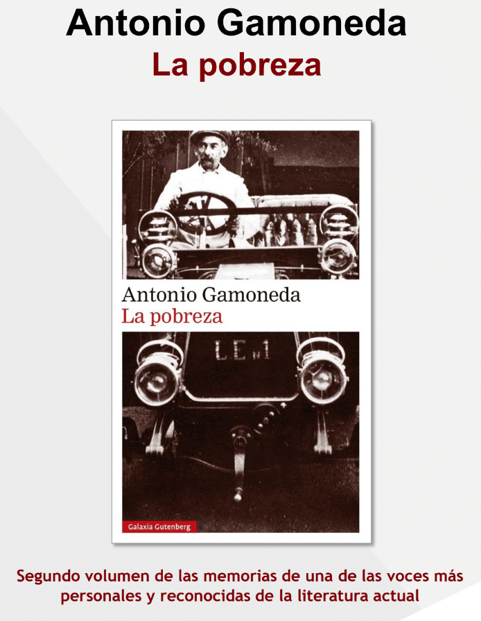 Antonio Gamoneda: La pobreza