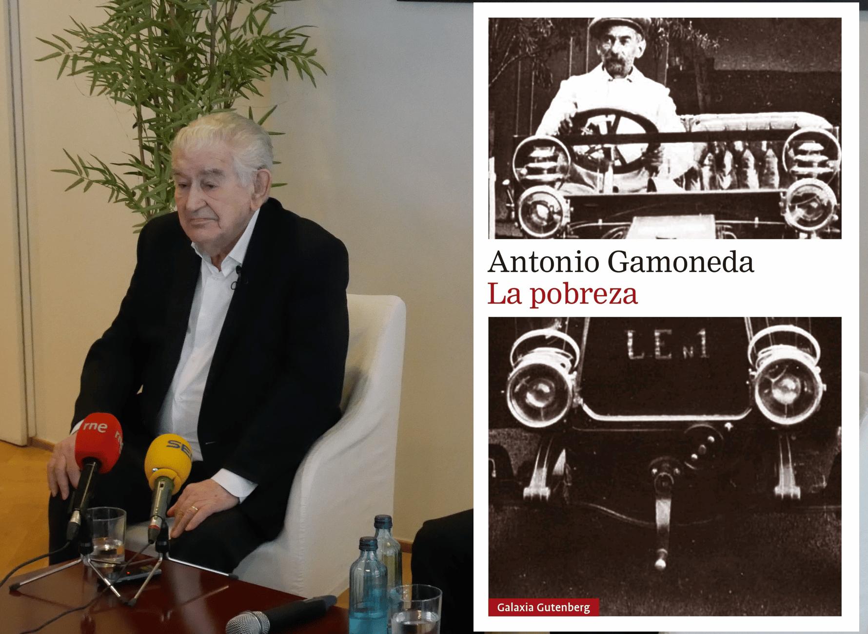 Antonio Gamoneda presenta la segunda parte de sus memorias: La pobreza